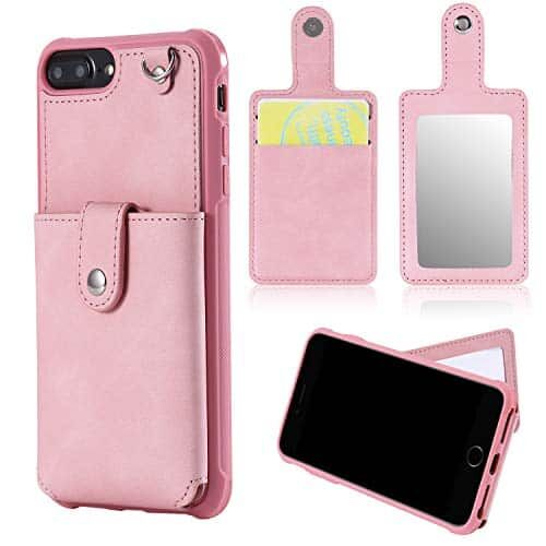 Capa carteira Bangcool para iPhone 6 Plus Capa protetora para iPhone 7 Plus para iPhone 8 Plus