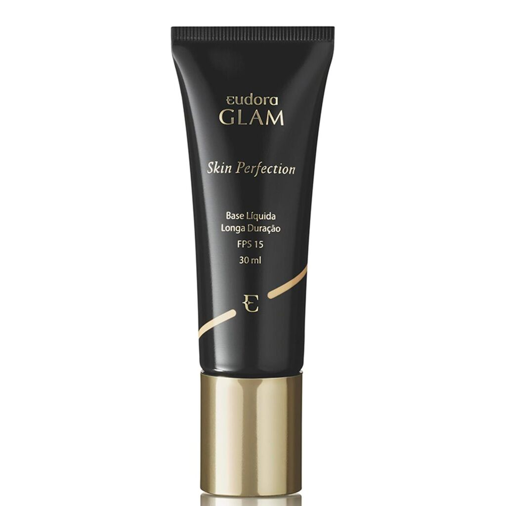 Base Líquida Glam Skin Perfection Bege Médio 3 30ml