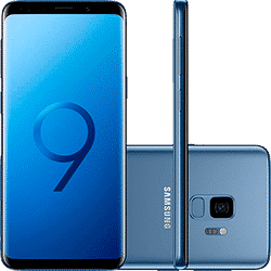 Smartphone Samsung Galaxy S9 Dual Chip Android 8.0 Tela 5.8″ Octa-Core 2.8GHz 128GB 4G Câmera 12MP – Azul